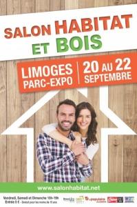 Salon Habitat et Bois à Limoges (87) édition 2019